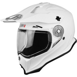 Just1 J14 J-14 DS Dual Sport Adventure Helmet White