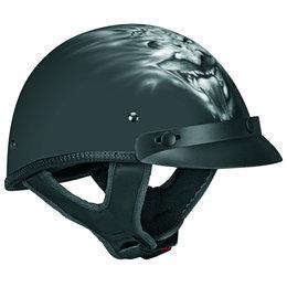 Black Vega Mens Xta Ghoul Half Helmet 2013