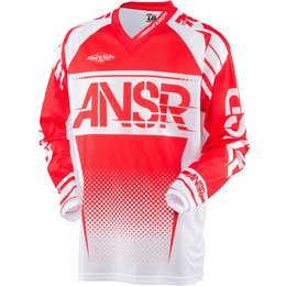 Answer Youth Boys Syncron Air Ventilated MX Motocross Riding Jersey Red