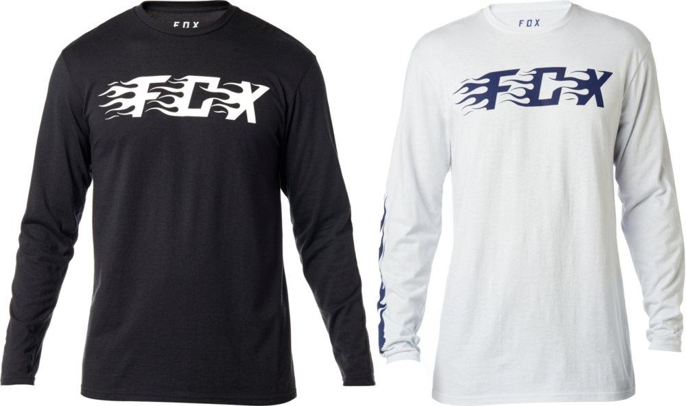 907bcee13599  29.00 Fox Racing Mens Flame Long Sleeve Basic T-Shirt  1071098