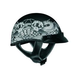 Black Vega Mens Xta Rattlers Half Helmet 2013