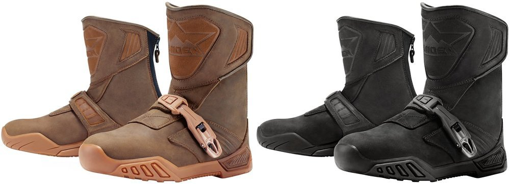 $240.00 Icon Mens Raiden Treadwell Leather Boots #261198