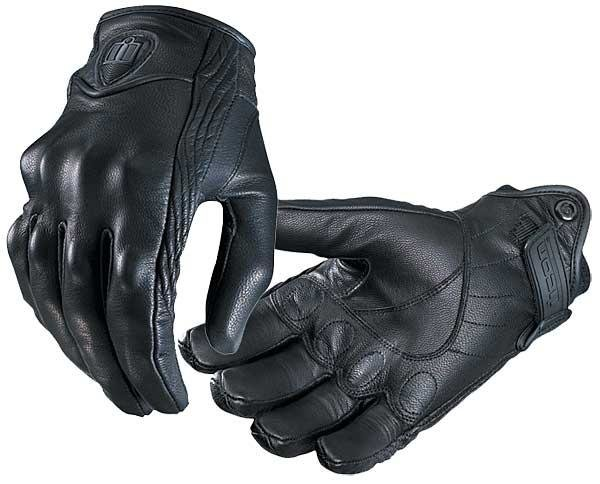 60 00 Icon Pursuit Leather Gloves 7446