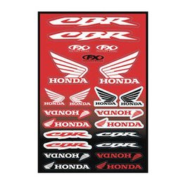 Factory Effex Factory Style Honda Sticker Decal Sheet Universal