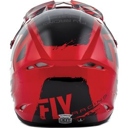 Fly Racing Kinetic Burnish Helmet Black