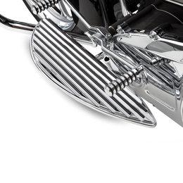 Chrome Arlen Ness Driver Floorboards Retro For Harley Flt Flht R Fltr Flst