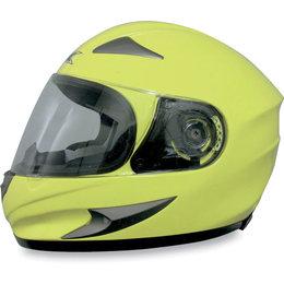 Hi-vis Yellow Afx Mens Fx-90 Fx90 Full Face Helmet