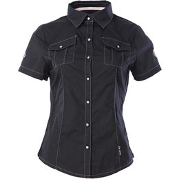 Divas Womens DSG Short Sleeve Pit Shirt Black