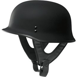 Fly Racing 9mm Half Helmet Black