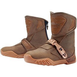 Icon Mens Raiden Treadwell Leather Boots Brown