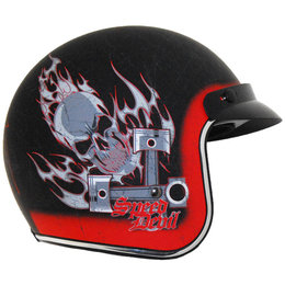 Vega X-380 X380 Speed Devil Open Face Helmet
