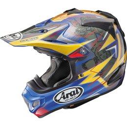 Arai VX-Pro4 Tickle Trophy Girl MX Motocross Helmet With Visor Blue