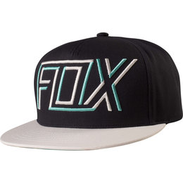 Fox Racing Mens Passe Adjustable Cotton Snapback Hat Black