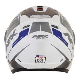 AFX FX-50 FX50 Signal Open Face Helmet Blue