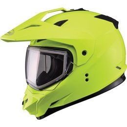 GMax GM11S Sport Snow Helmet With Dual Pane Shield Yellow
