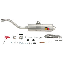 Supertrapp IDSX Exhaust System Stainless Steel For Honda Rancher 4x4
