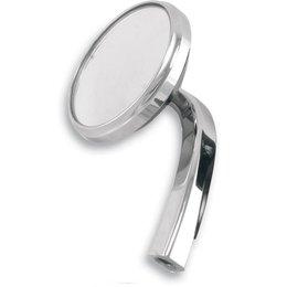 Alloy Art Shooter Mirror Left Chrome For Harley Davidson