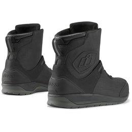 Icon Mens Patrol 2 BOA Waterproof Leather Boots Black