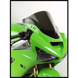 Zero Gravity Double Bubble Windscreen Dark Smoke For Kawasaki ZX 6R 10R 08-11