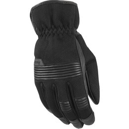 Highway 21 Mens Turbine Mesh Riding Gloves Black