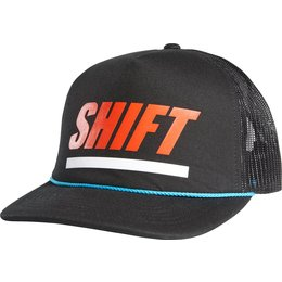Shift Racing Mens Blinders Mesh Back Snapback Adjustable Hat Black