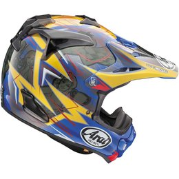 Arai VX-Pro4 Tickle Trophy Girl MX Motocross Helmet With Visor Blue