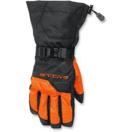 Arctiva Mens Pivot Insulated Waterproof Snow Gloves Black
