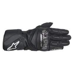 Black Alpinestars Mens Sp-2 Leather Gloves 2014