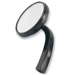Alloy Art Shooter Mirror Left Black For Harley Davidson