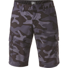 Fox Racing Mens Slambozo Tech Camo Shorts Grey