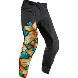 Thor Mens Prime Pro Floral Pants Black