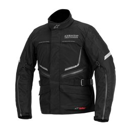 Alpinestars Mens Valparaiso Drystar Waterproof Textile Jacket Black