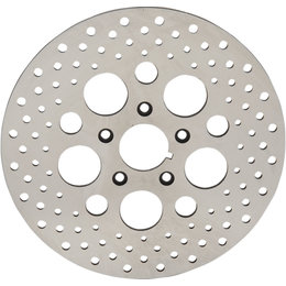 Drag Specialties Brake Rotor Drilled One-Piece Style 11.5