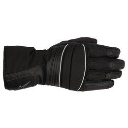 Black Alpinestars Mens Oslo Drystar Textile Gloves 2015