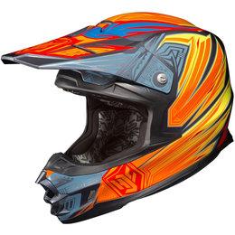 Hi-vis Yellow Hjc Fg-x Fgx Legendary Lucha Helmet