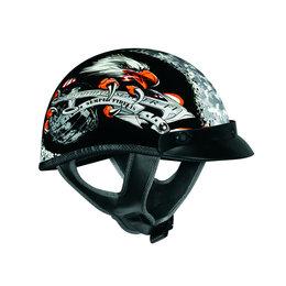 Black Vega Mens Xta Semper Fi Half Helmet 2013