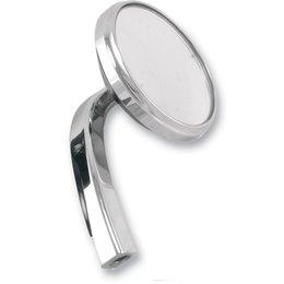 Alloy Art Shooter Mirror Right Chrome For Harley Davidson