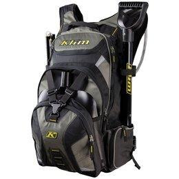 Klim Krew High Capacity 3 Liter Hydrapak Shovel Storage Snowmobile Backpack Black