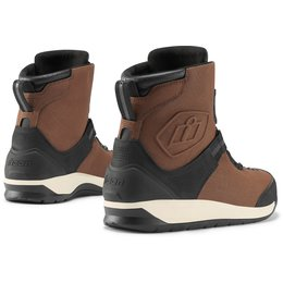 Icon Mens Patrol 2 BOA Waterproof Leather Boots Brown