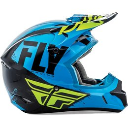 Fly Racing Kinetic Burnish Helmet Blue