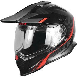 Just1 J14 J-14 DS Graphic Dual Sport Adventure Helmet Red