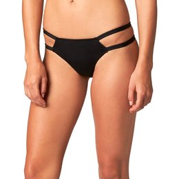 Fox Racing Womens Flash Double Band Bikini Bottom Black