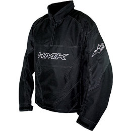 Black Hmk Throttle Pullover Snow Jacket
