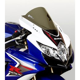 Zero Gravity Double Bubble Windscreen Smoke For Suzuki GSXR 08-10