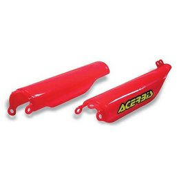 Acerbis Fork Covers Red For Honda CR125R CRF250R CRF450R