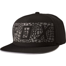 Fox Racing Mens Grav Adjustable Snapback Hat Black