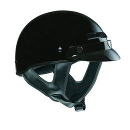 Gloss Black Vega Mens Xts Half Helmet 2013