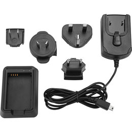 Garmin Lithium-Ion Battery Charger With International Plugs For VIRB Cameras