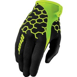 Thor Mens Draft Comb Textile Gloves Black