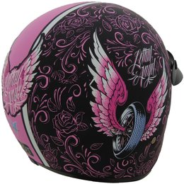 Vega Womens X-380 X380 Lethal Angel Open Face Helmet
